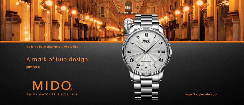 thương hiệu đồng hồ Mido