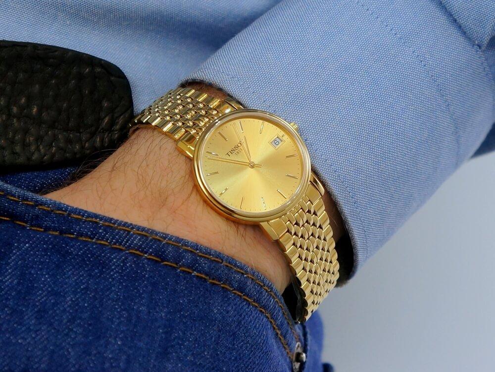 Đồng hồ Tissot mạ vàng