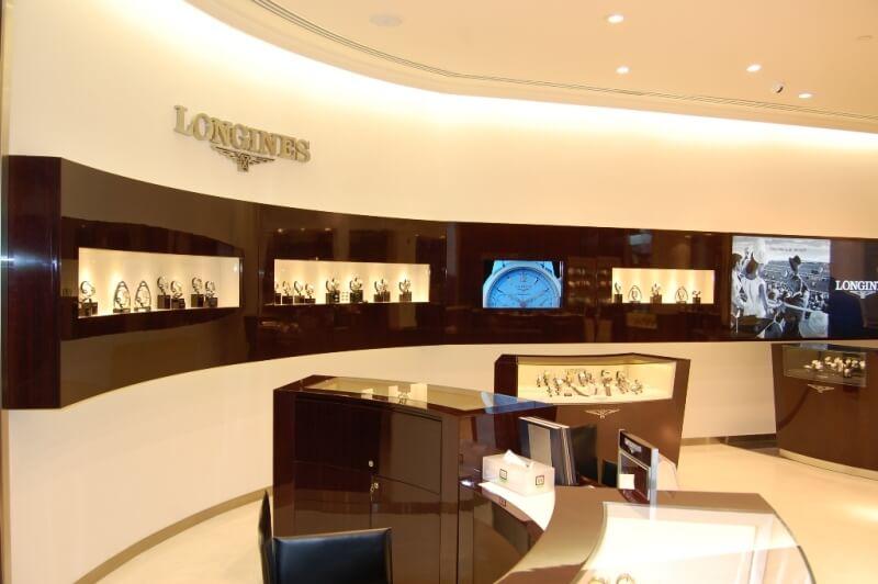 cửa hàng đồng hồ thụy sỹ