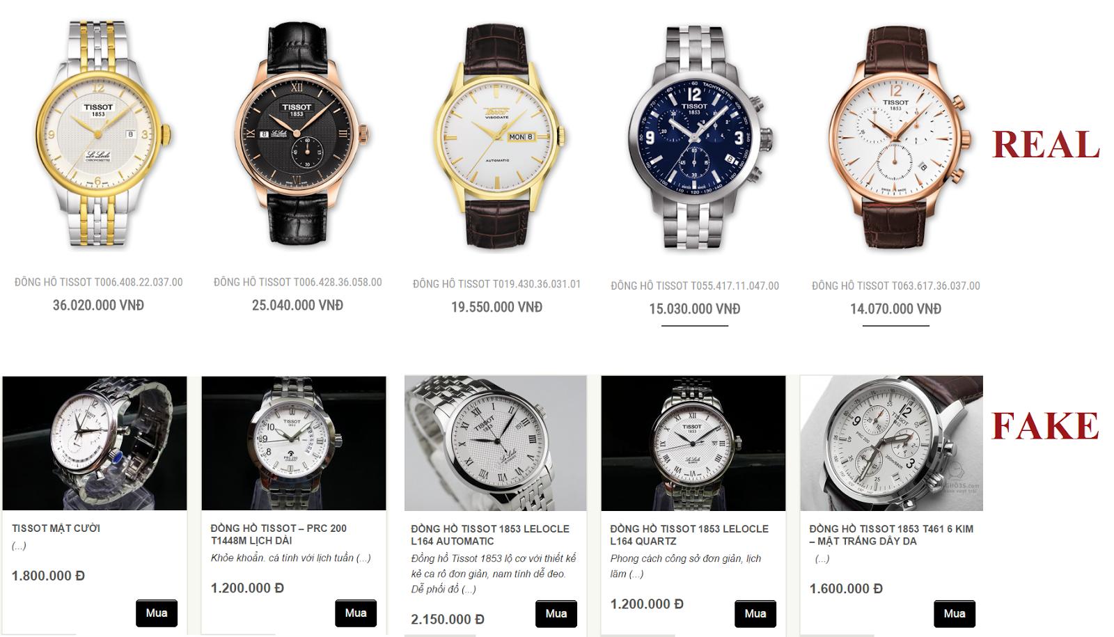 3 mẹo cơ bản giúp bạn kiểm tra đồng hồ Tissot chính hãng