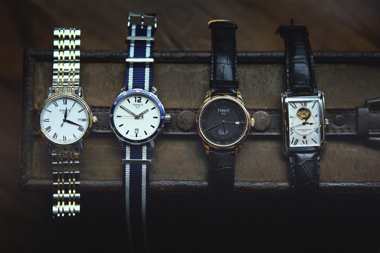 đồng hồ Tissot 1853 nam giá bao nhiêu