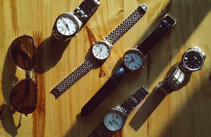 đồng hồ Tissot dây da