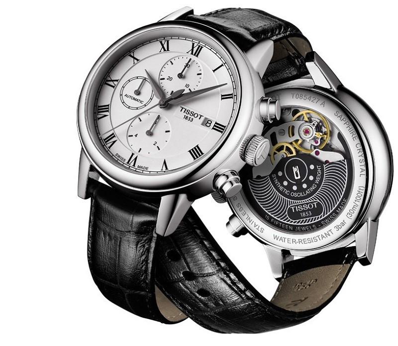 Hướng dẫn chi tiết cách chỉnh đồng hồ Tissot 6 kim