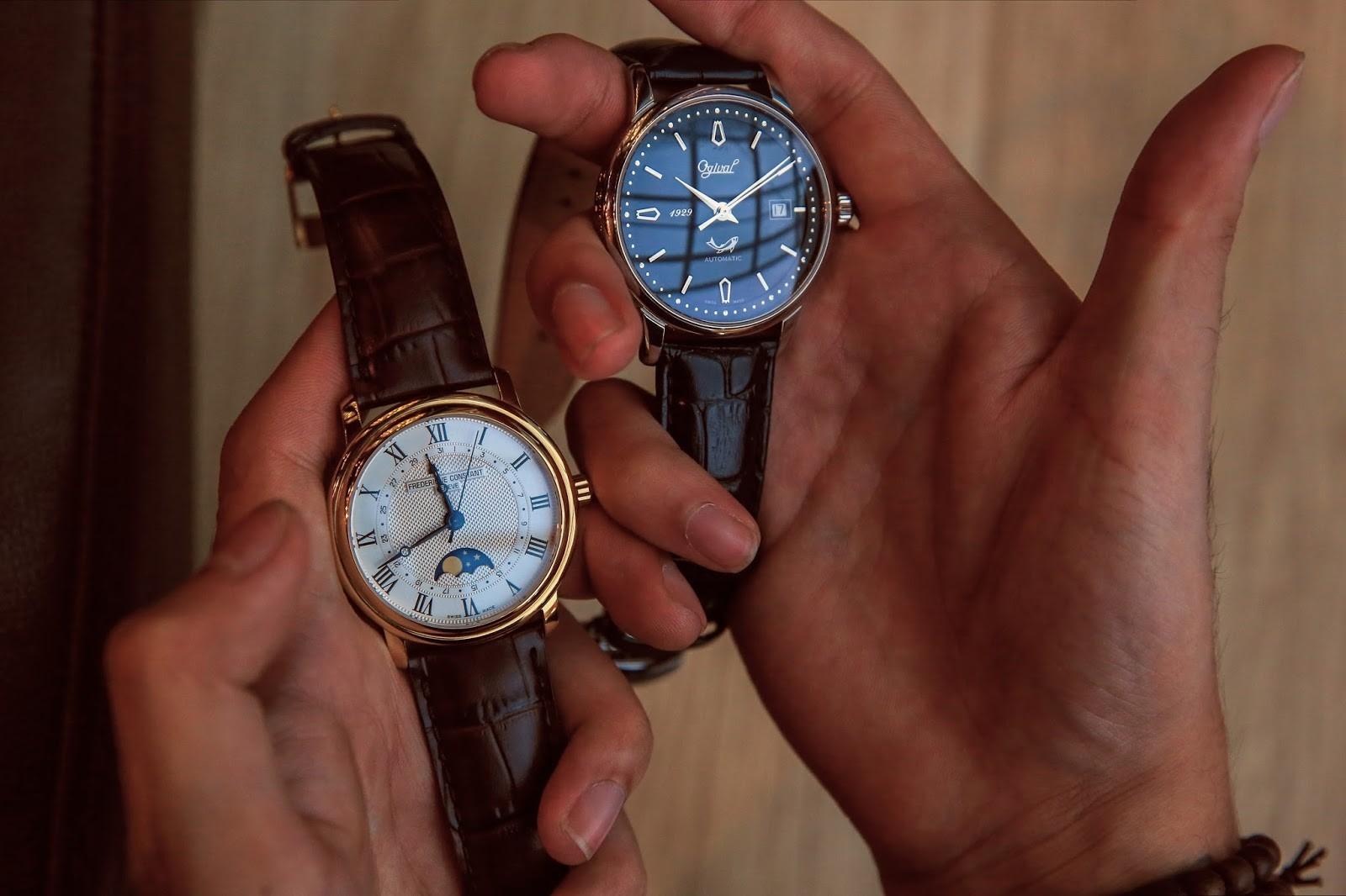 chọn thương hiệu đồng hồ Thụy Sỹ nam