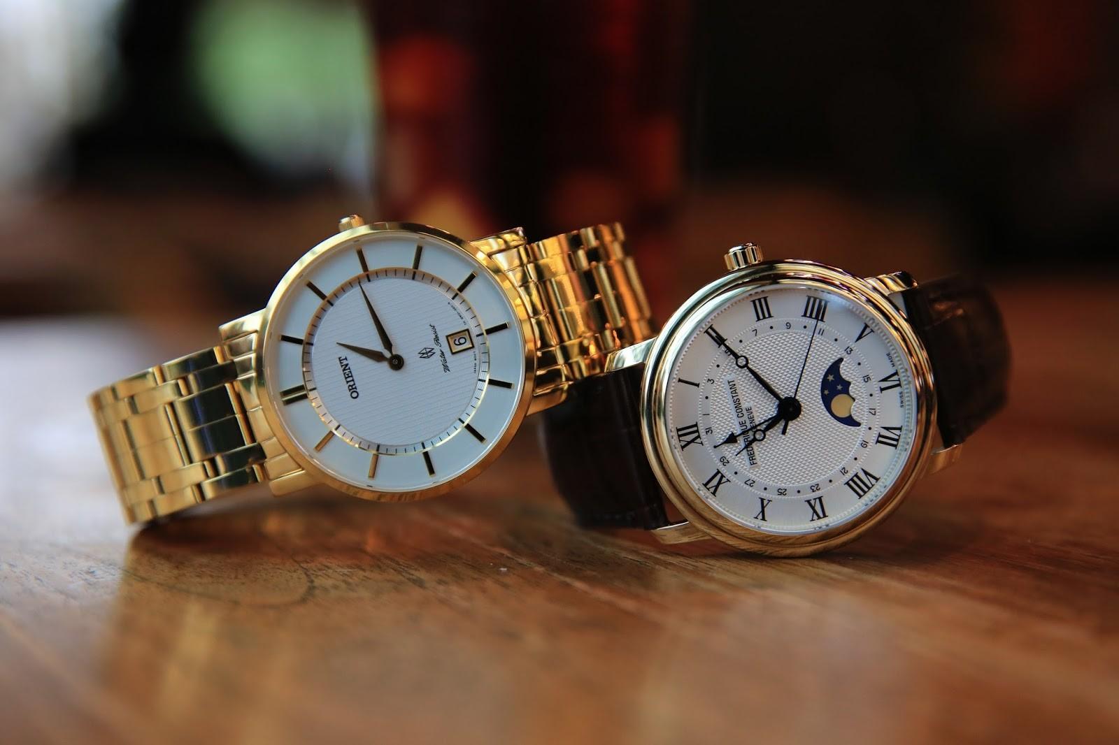 chọn thương hiệu đồng hồ Thụy Sỹ nam theo giá