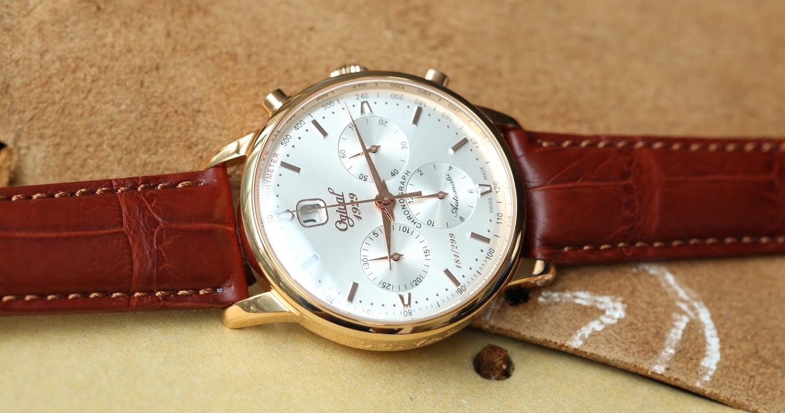 Đồng hồ Ogival - Thương hiệu Thụy Sĩ dành riêng cho người châu Á