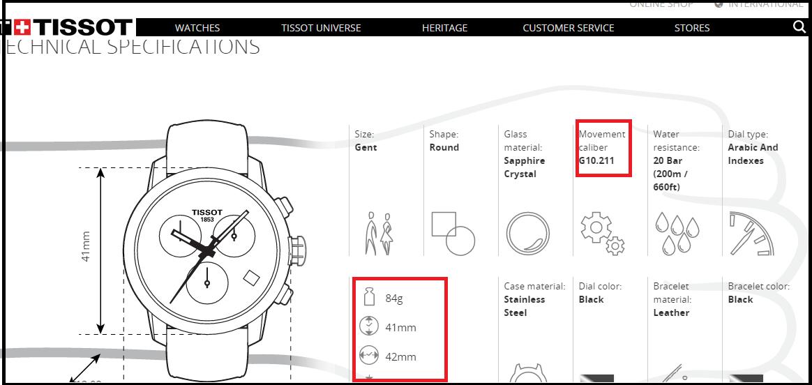 Tất tần tật cách kiểm tra đồng hồ Tissot chính hãng