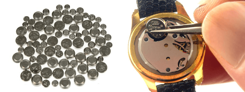pin đồng hồ Thụy Sĩ