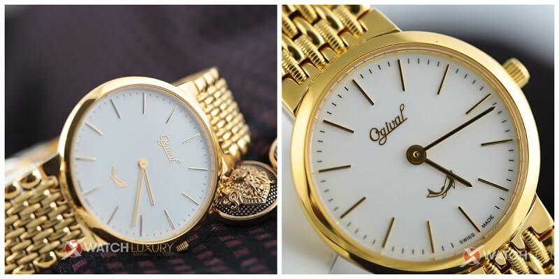 Những sắc thái đồng hồ đôi Thụy Sĩ Ogival gây sốt nhất 2017