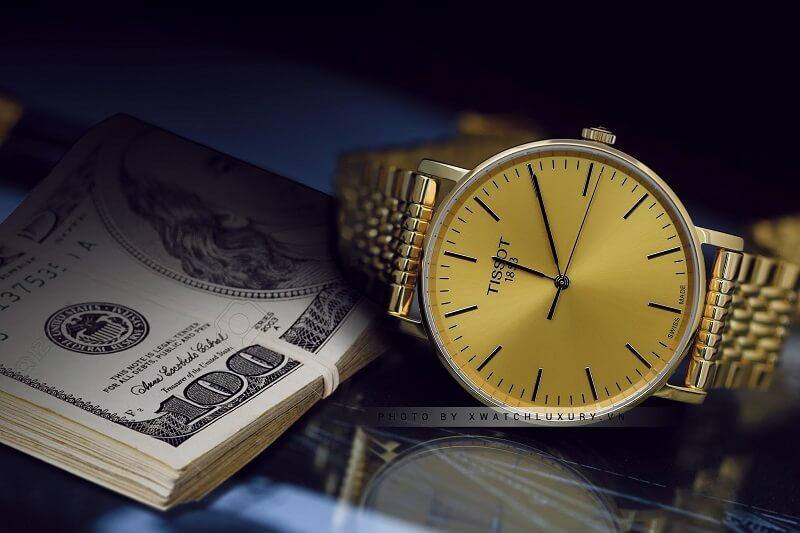 Lời giải đáp cho câu hỏi: Đồng hồ Tissot chính hãng giá bao nhiêu?