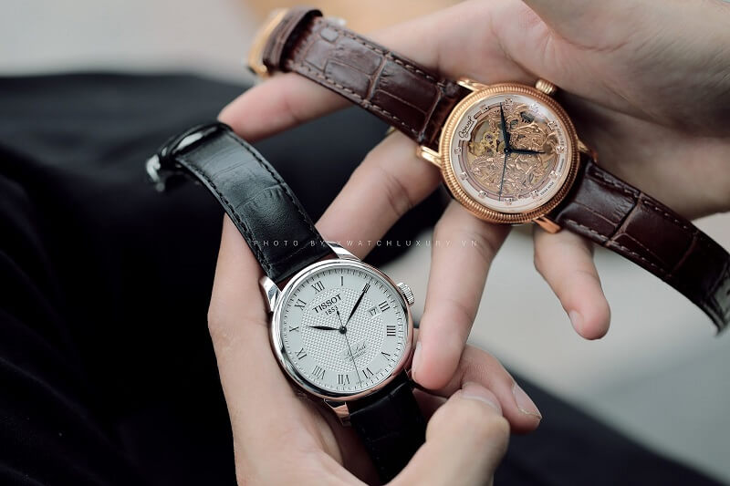 chọn dây da đồng hồ cao cấp