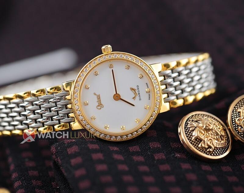 Đồng hồ Ogival Diamond 385 - Vẻ quyến rũ từ những viên kim cương