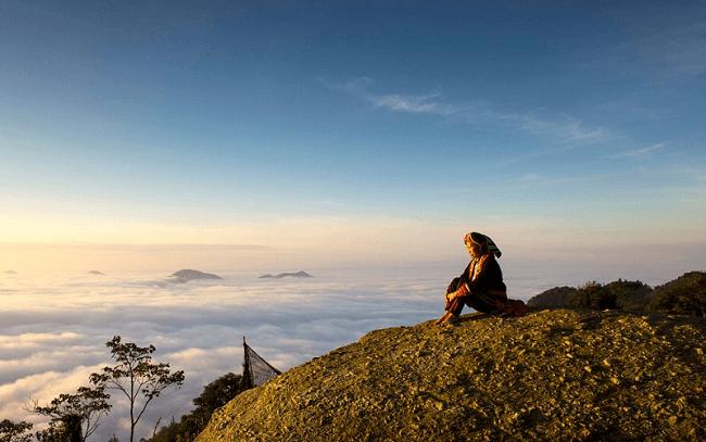 Chiêu Quy Lầu - Đỉnh núi 9 tầng mây đẹp như tiên tại Hà Giang