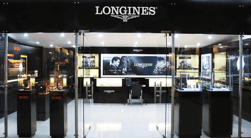 Phát hiện mới bất ngờ về cửa hàng đồng hồ Longines