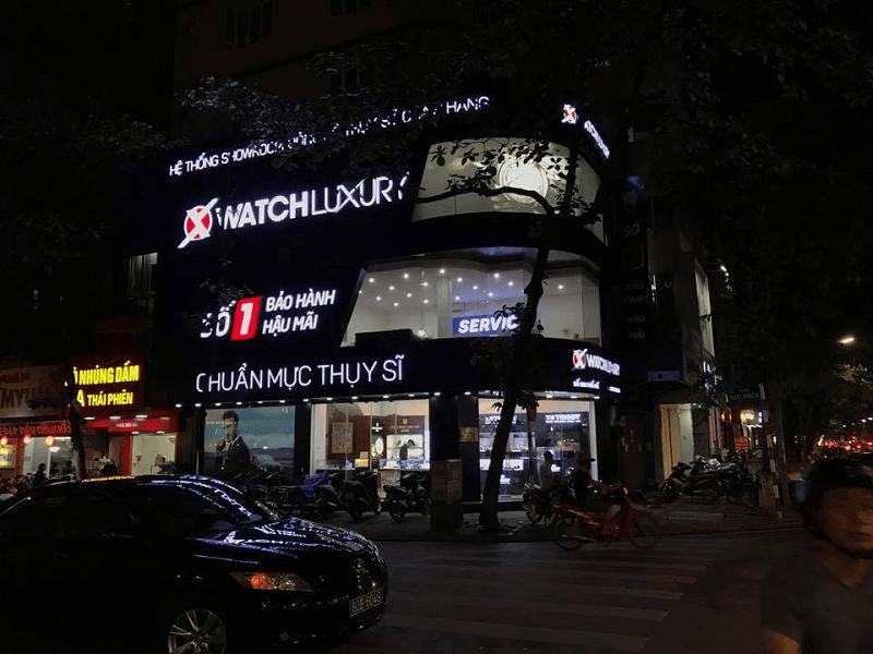 cửa hàng đồng hồ Thụy Sỹ chính hãng
