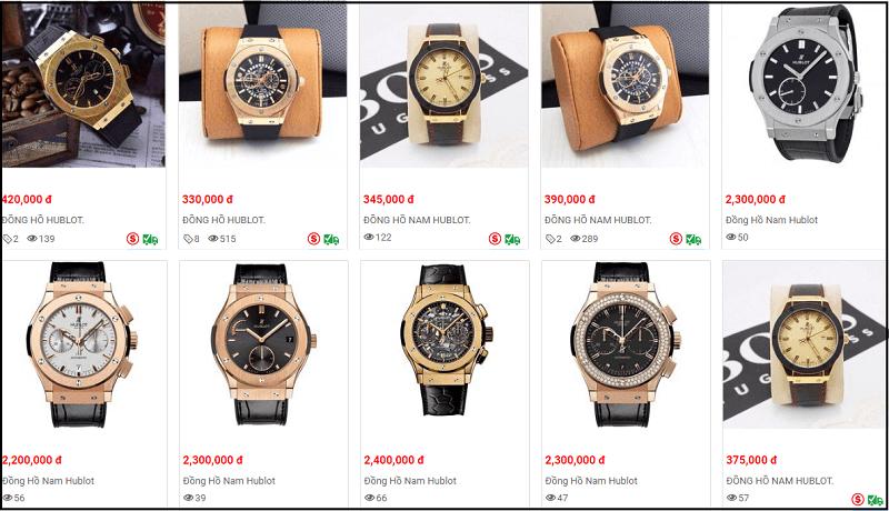 thị trường đồng hồ chính hãng tpHCM