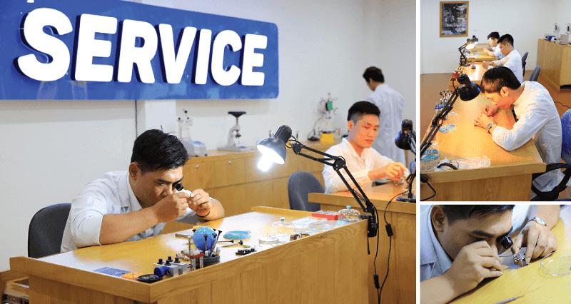 trung tâm bảo hành đồng hồ Tissot tại Hà Nội và TPHCM