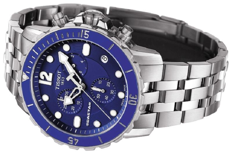Đồng hồ Tissot mặt xanh