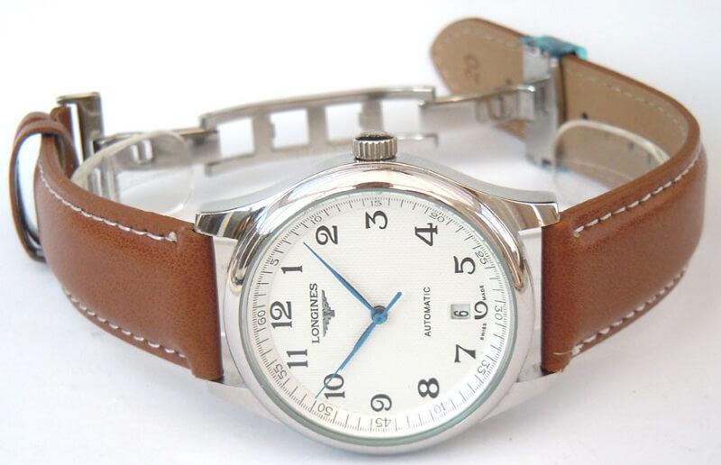 đồng hồ Longines nam dây da