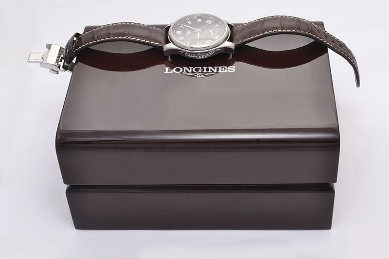đồng hồ Longines dây da chính hãng