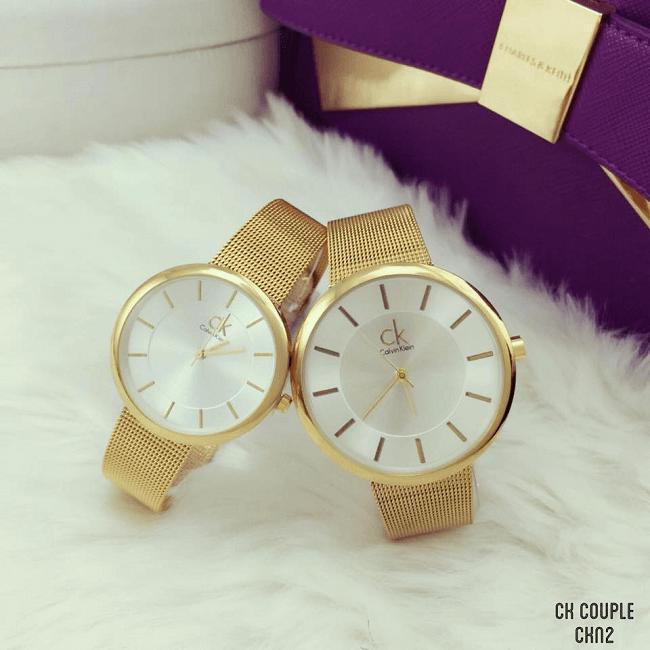 Cùng đồng hồ đôi cK kể chuyện tình yêu của bạn