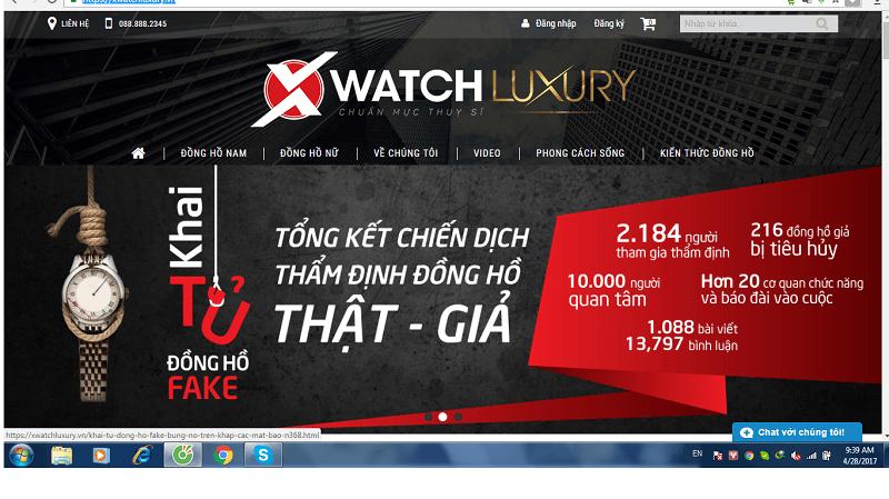nên hay không nên mua đồng hồ cK xách tay