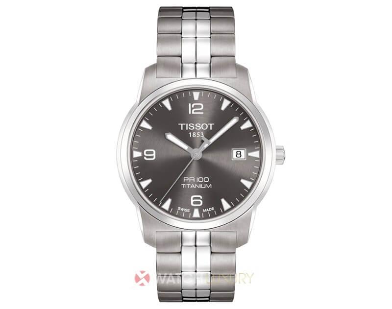 Thưởng thức đồng hồ nam chống nước Tissot PR100