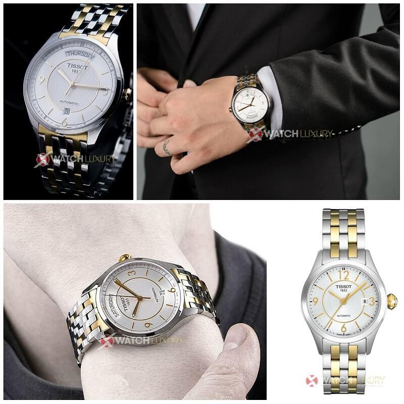 Đồng hồ đôi Tissot: Trao yêu thương - gửi hạnh phúc