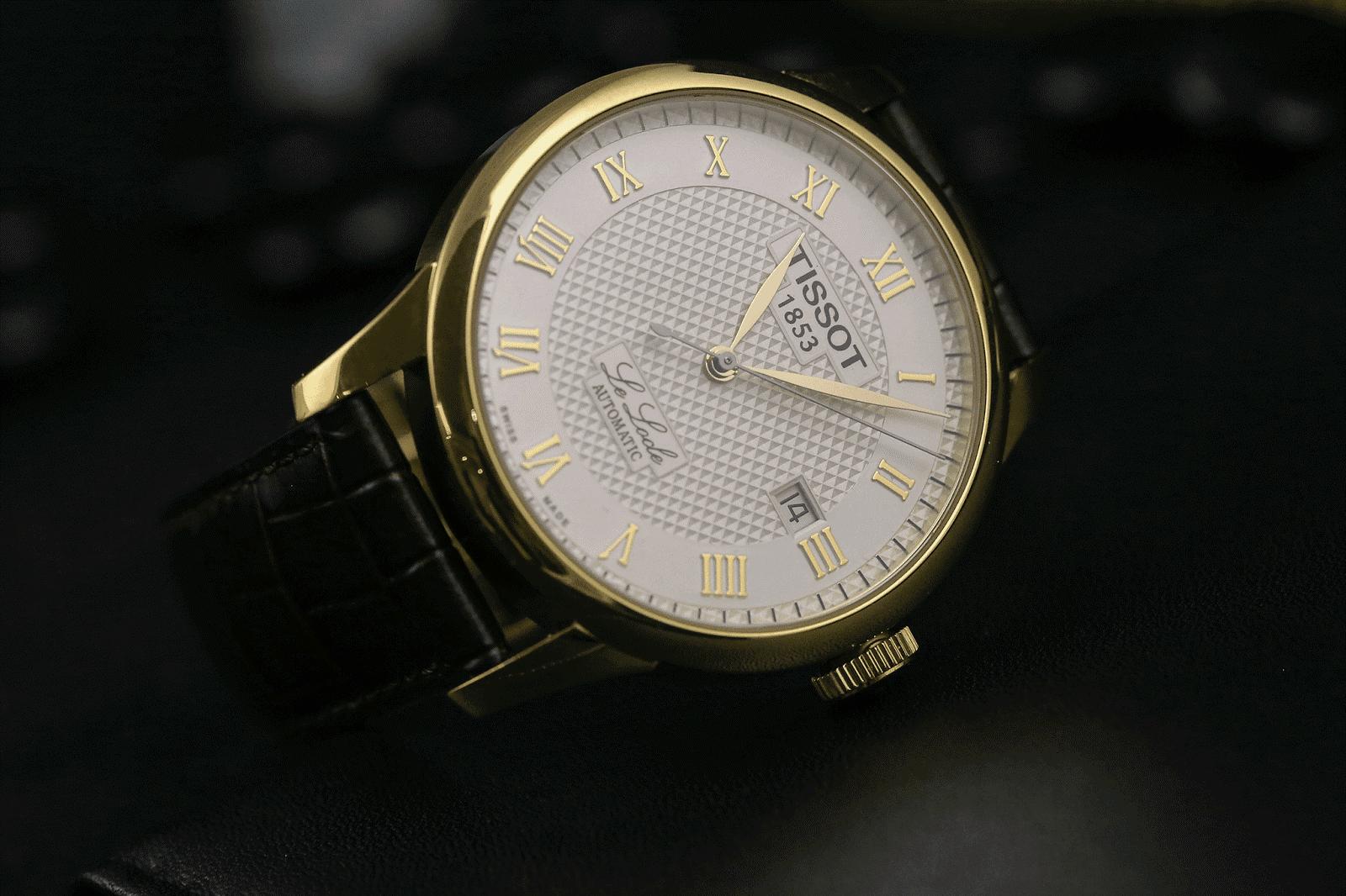 """Tại sao đồng hồ Tissot Le locle 1853 trở thành """"con cưng"""" của quý ông?"""