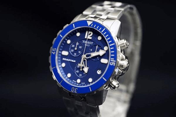 Đồng hồ nam mặt xanh dương - đứa con của biển cả