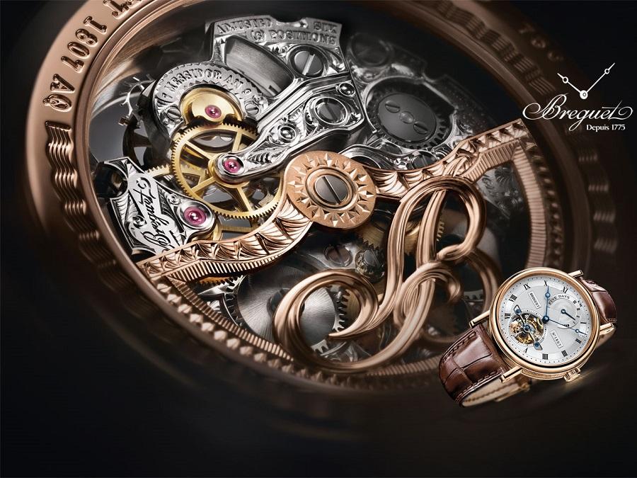 sự tinh xảo trong sản phẩm của các hãng đồng hồ nổi tiếng thế giới