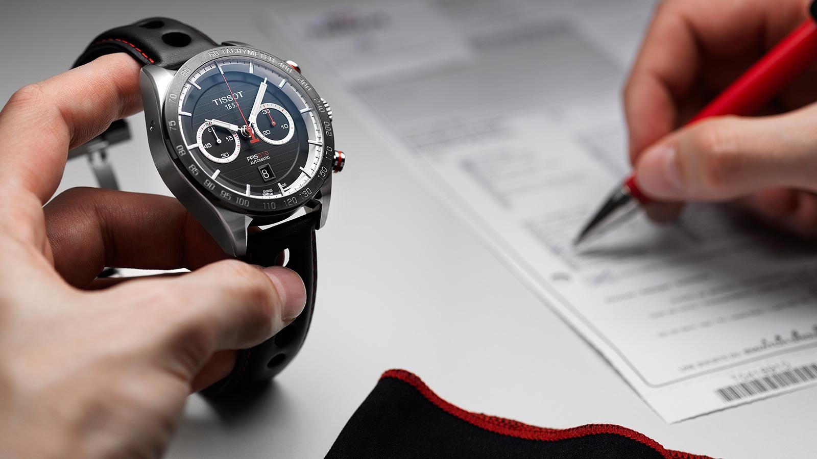 Bảo hành 2 năm khi mua đồng hồ Tissot