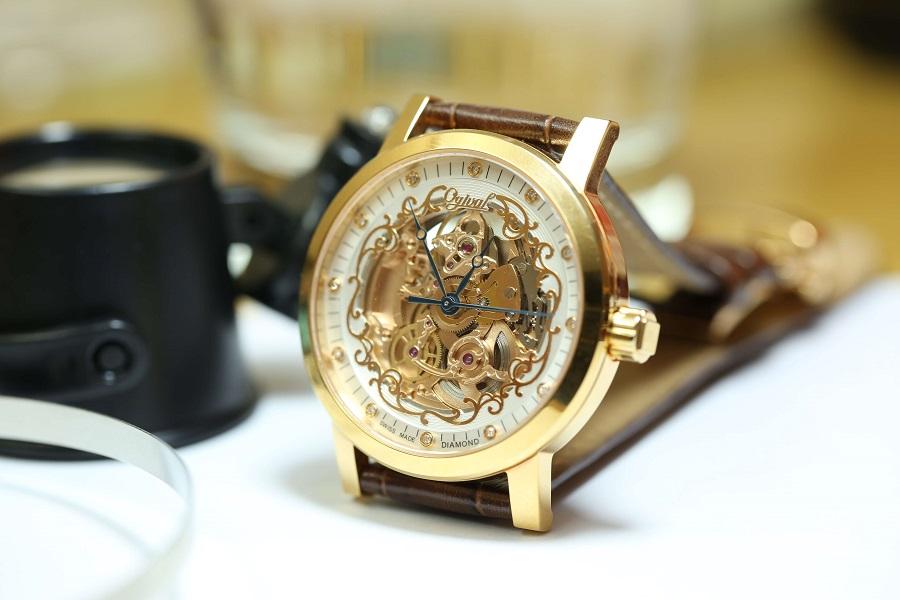 cỗ máy đồng hồ Ogival Skeleton