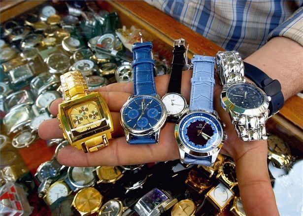 đồng hồ Thụy sỹ nhái ngày càng nhiều