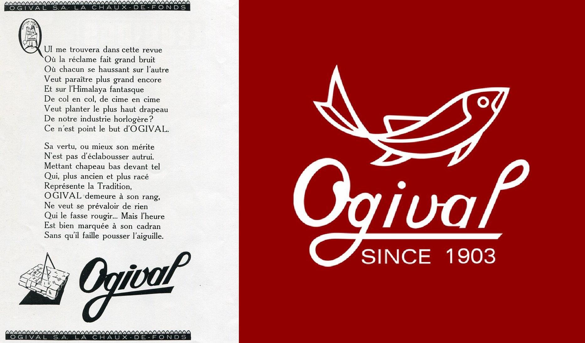 lịch sử thương hiệu đồng hồ ogival