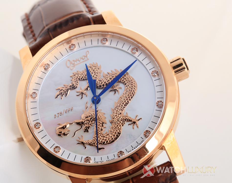 đồng hồ Ogival phiên bản rồng