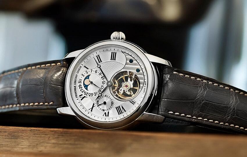 Thương hiệu đồng hồ Frederique Constant sáng tạo trong từng chi tiết