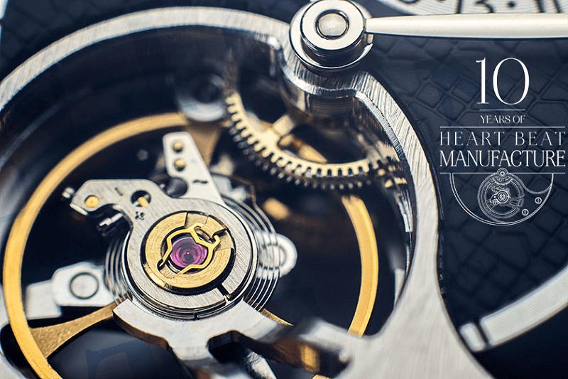 Đồng hồ Heart Beat của Frederique Constant là một cuộc cách mạng
