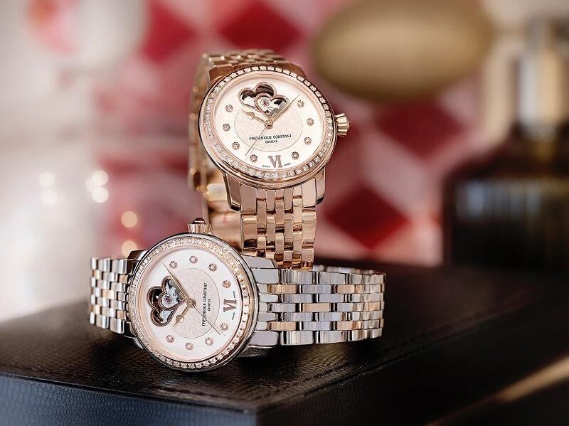 Sự thanh lịch duyên dáng của đồng hồ Frederique Constant