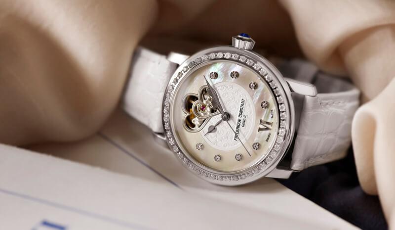 đồng hồ heart beat frederique Constant dành cho nữ