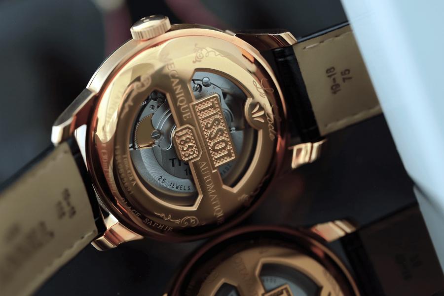 Đồng hồ Tissot automatic mang bản sắc Thụy Sỹ