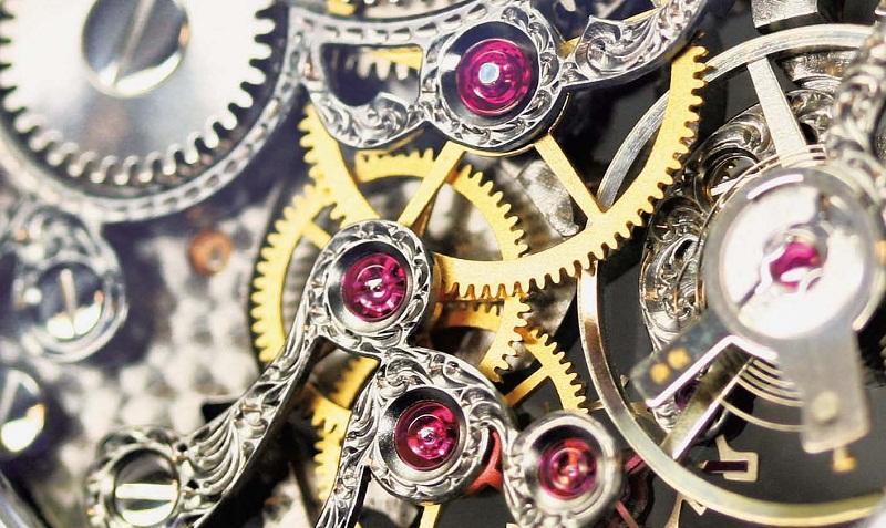 Sự thật về chân kính - đá quý trong cỗ máy đồng hồ