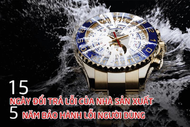 điều khoản bảo hành của Xwatch Luxury