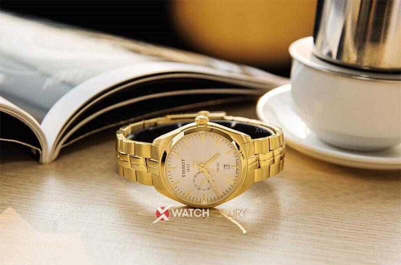 đồng hồ tissot dây kim loại
